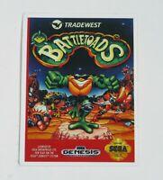 Battletoads Sega Genesis Game STICKER Vintage Games Nintendo NES Retro NEW