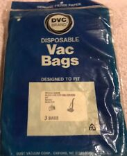 DVC Disposable Pkg of 3 Vacuum Cleaner Bags Fits Whirlpool Uprights & Kenmore
