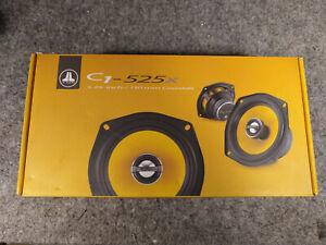 "NIB JL AUDIO C1-525X 5.25"" TWO WAY COAXIAL SPEAKERS NEW IN BOX NO MANUAL"