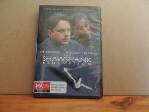 The Shawshank Redemption (DVD, 2009, 2-Disc Set) region 4 brand new and sealed