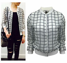 Unbranded Checked Formal Button Coats & Jackets for Women