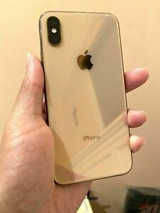 Apple iPhone XS - 64GB - Gold (Unlocked) A1920 (CDMA + GSM) MINT 10 10 Condition