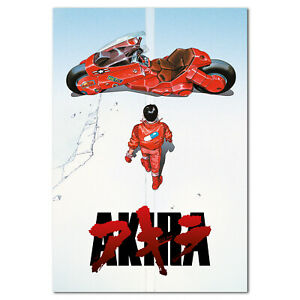 21 24x36in W214 Art Akira Red Fighting Hot Japan Anime Pop LW-Canvas Poster
