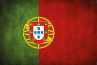 Fahne Flagge Flag Portugal Blechschild Schild gewölbt Tin Sign 20 x 30 cm CC0021