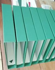 New Green Slip Case for Exeter Album in quality Green Book Cloth