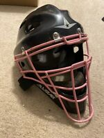 All Star MVP 2310 Youth Catchers Helmet Size 6 1/4 - 7 Black With Pink Mask
