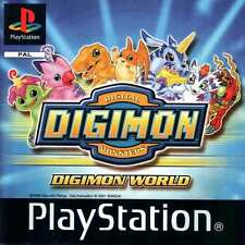 Digimon World PlayStation 1 Video/Game/PS1/Used/Working/Original/Vintage/Used
