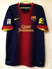 BARCELONA 2012 2013 NIKE HOME FOOTBALL SOCCER  SHIRT JERSEY CAMISETA SPAIN