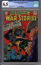 Star Spangled War Stories #126 CGC 6.5 (OW) Joe Kubert Cover