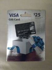 $25 Visa Card Activated And Ready To Use