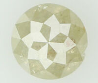 Natural Loose Diamond Round Rose Cut I3 Clarity Grey Color 4.60 MM 0.52 Ct N6431