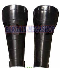 Steel Greaves Medieval Knight Armor Leg Protection Funtional Combat Plate Armour