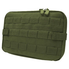 CONDOR TACTIQUE ARMÉE POCHETTE CARTE SUPPORT NOTEBOOK MOLLE CAISSE SANGLE KAKI
