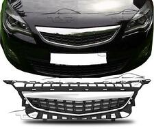 FRONT CHROME GRILL FOR VAUXHALL ASTRA J 09-12 SPORT NO EMBLEM BODY KIT NEW
