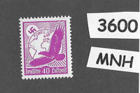 #3600  Third Reich  Germany MNH 1934 stamp Sc C51 PF40  Airmail Eagle & Globe
