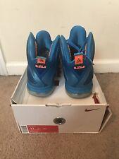 Nike Lebron 9 IX China US Men Size 11 469764 800 Blue Orange OG ALL