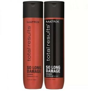 Matrix Total Results So Long Damage Shampoo & Conditioner Duo, 10oz (300ml) Each
