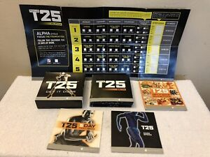 Beachbody Focus T25 Alpha Beta DVD BOX SET Workout Plan - Fitness DVD Set