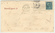 Canada Cover - 1908 From Montreal to St Quay Portrieux - 5 Cent stamp - Fresh