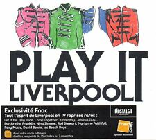 ☆ CD The BEATLES  Play it Liverpool Ltd ed 19 cover versions  - beach boys NEW