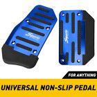 2 Non-slip Automatic Gas Brake Foot Pedal Pad Cover Car Auto Parts Kit Universal
