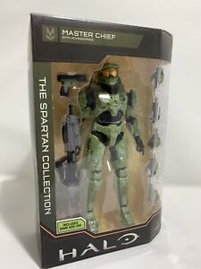 """Halo Infinite THE SPARTAN COLLECTION MASTER CHIEF 7"""" figure Includes Game Add-On"""