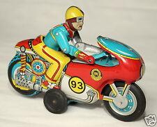 OMI India Blechspielzeug Blech Motorrad Winner 93 im OVP