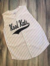 Vintage 90s Teamwork Athletic Apparel Uniform Kool Kats Baseball Jersey Usa