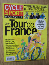 Cycle Sport Magazine Summer 2015----Tour De France Guide