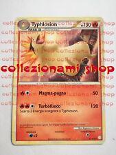 TYPHLOSION - RARA 32/123 - HEARTHGOLD SOULSILVER - POKEMON - ITALIANO - GOOD