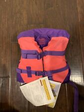 Dbx Vector Series Infant Lightweight Nylon Life Vest Uscg Approved Floatation