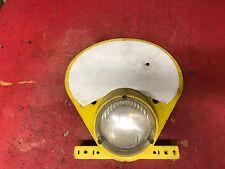 Preston Petty Head Light Number Plate Yamaha  Yellow Enduro  Headlight