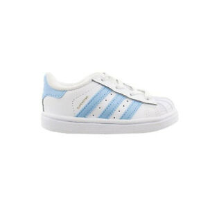 ADIDAS TODDLERS ORIGINALS CASUAL SNEKAERS BW1279 WHITE/BLUE