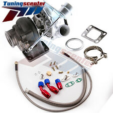 TCT T04E T3/T4 A/R.63 73 TRIM 420+HP STAGE III TURBO CHARGER+Oil Line Kits