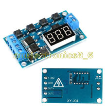 12V 24V Trigger Cycle Timer Delay Switch Circuit Board MOS Tube Control Module F