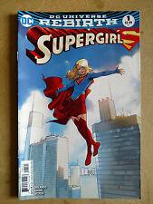 SUPERGIRL #1 REBIRTH BENGAL VARIANT FIRST PRINT DC COMICS (2016)