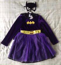 Girls Batgirl Fancy Dress Costume/Girls Batman/Bat Girl Super Hero Outfit ~ 9-10
