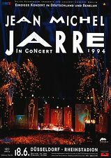 "TOUR POSTER~Jean Michel Jarre 1994 Live Stage Germany Concert 24x34"" NOS Import~"