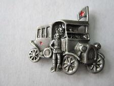 Pin Krankenwagen Soldat Reichswehr WWII WK2 WK1 WH Wehrmacht Ambulance