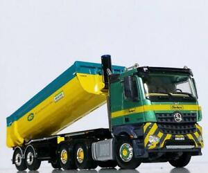 "Mercedes Arocs MP4 halfpipe tipper trailer ""Eberhard"" WSI truck models 01-3207"