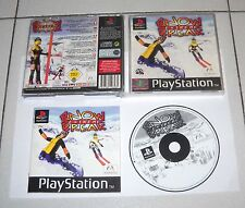PS1 Playstation 1 SNOW EXTREME BREAK - PAL OTTIMO Psone Sci sport