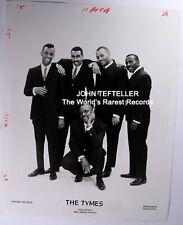 ORIGINAL 1960's Publicity Photo The Tymes Soul