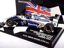 Minichamps WILLIAMS RENAULT FW16 Vincitore GP BRITANNICO 10th LUGLIO 1994 Damon Hill
