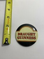 Vintage Beer Button Guinness Draught.