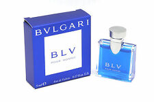 *BLV*Bvlgari Pour Homme Mini Size Cologne EDT Splash .17 oz / 5 ml New in Box