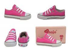 Chaussures roses en toile pour fille de 2 à 16 ans pointure 32