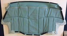 Classic Mini Rear Seat Cushion Cover - Surf Blue/White Diamond - HMA109920RLJ