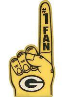 Green Bay Packers Foam Finger #1 Fan - 18 in! Great for Game Day Party!