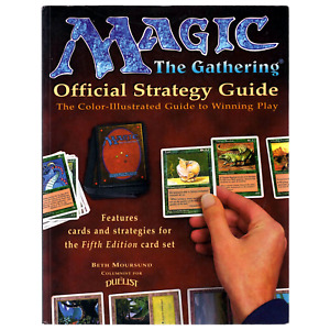 Magic: The Gathering Official Strategy Guide - 5th Edition Collectible MTG THG