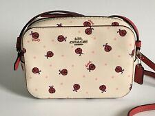 Coach Ladybug Chalk Red Multi Mini Camera Bag NWT 2461